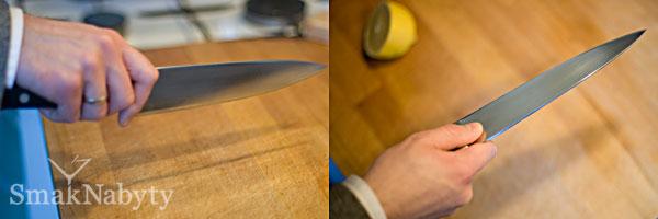Jak trzymać nóż kuchenny