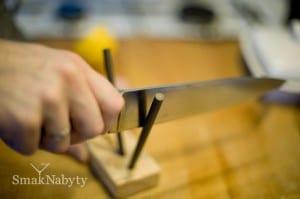 Jak ostrzyć nóż kuchenny