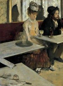 Edgar Degas Absinthe