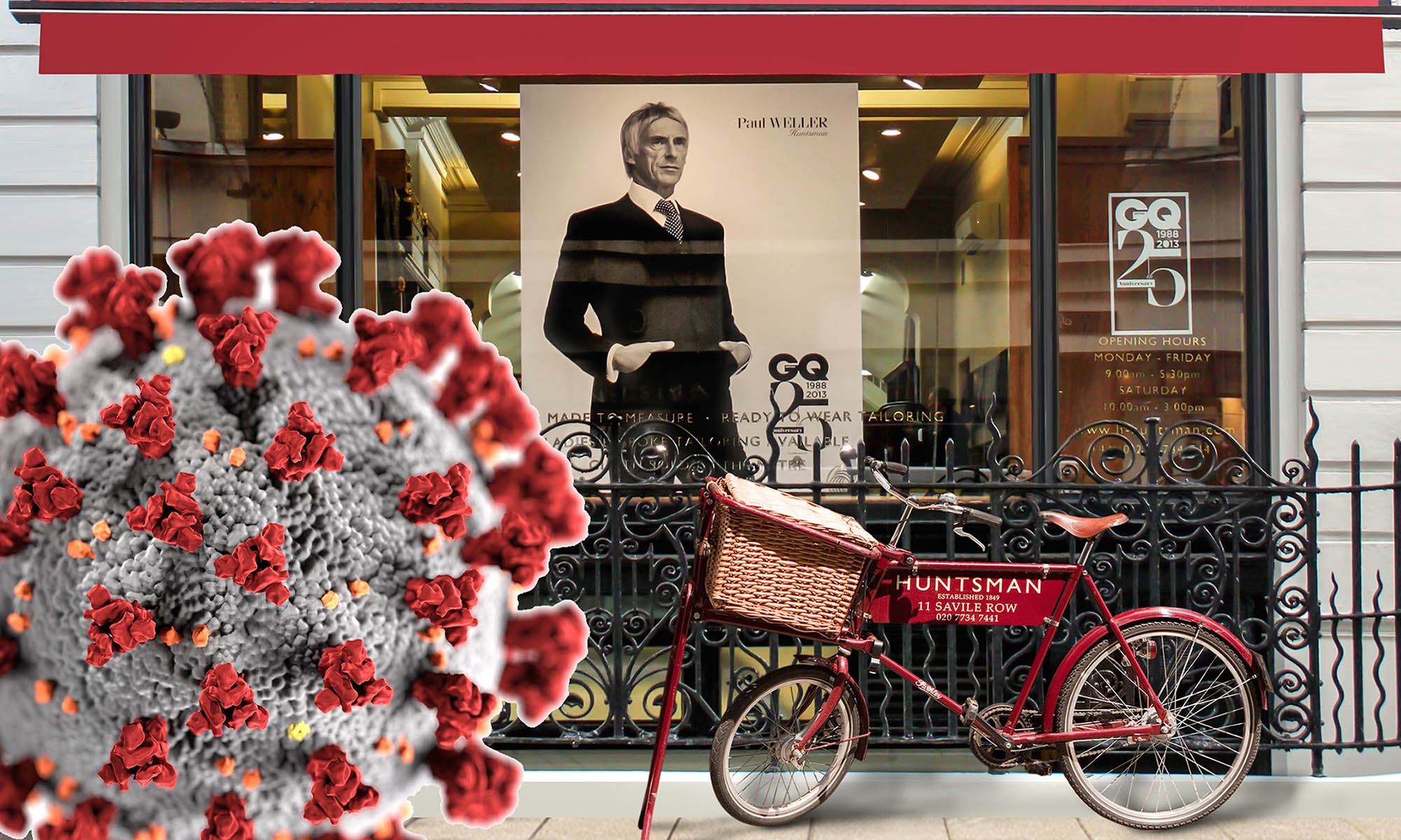 Savile Row covid